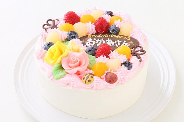 お花畑のケーキ 5号 15cmの画像1枚目