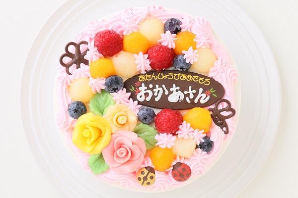 お花畑のケーキ 5号 15cmの画像2枚目