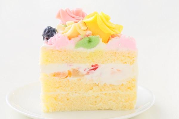 お花畑のケーキ 5号 15cmの画像4枚目