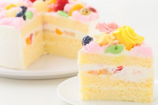 お花畑のケーキ 5号 15cmの画像5枚目
