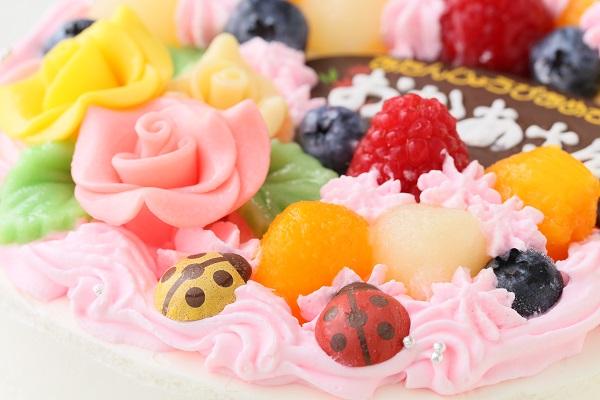 お花畑のケーキ 5号 15cmの画像7枚目