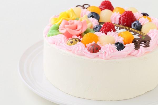 お花畑のケーキ 5号 15cmの画像9枚目