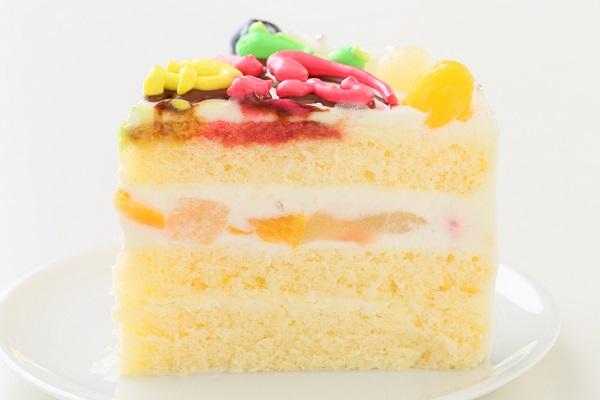 カラフルメッセージケーキ 7号 21cm 約30字までの画像4枚目