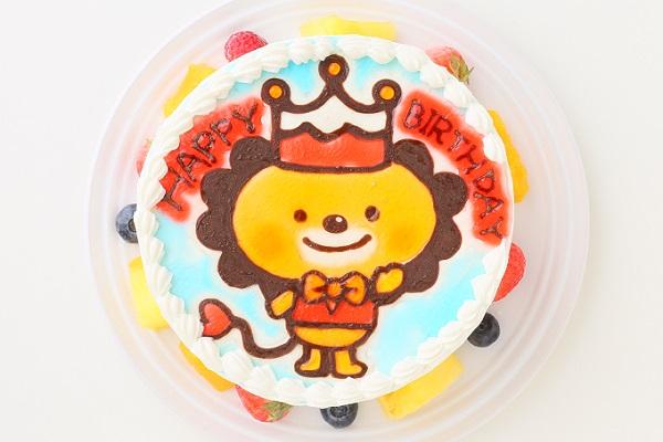 生クリームキャラクターケーキ 5号 15cmの画像1枚目