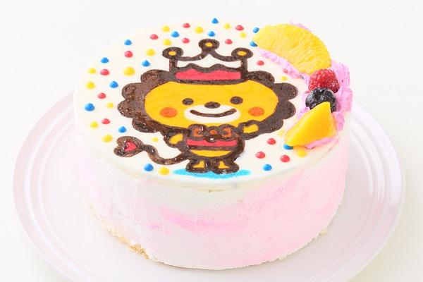 イラストケーキ 生クリーム 4号 12cmの画像2枚目