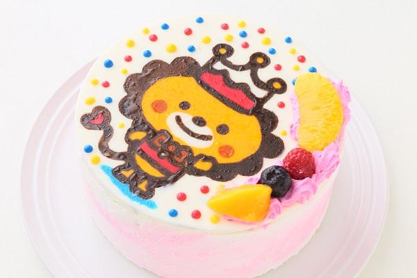 イラストケーキ 生クリーム 4号 12cmの画像6枚目