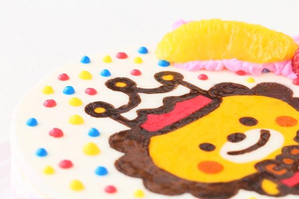 イラストケーキ 生クリーム 4号 12cmの画像7枚目