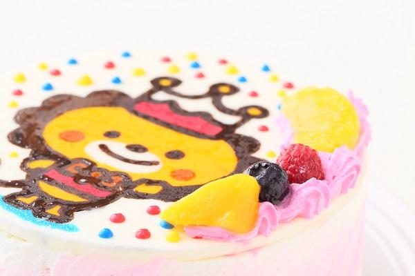 イラストケーキ 生クリーム 4号 12cmの画像8枚目