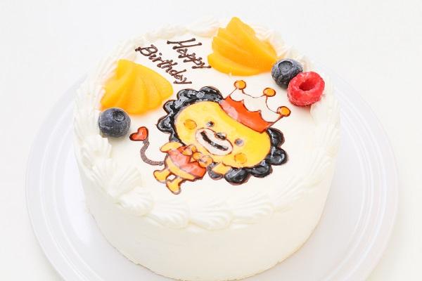 フランボワーズオリジナル イラストケーキ 生 5号 15cmの画像6枚目