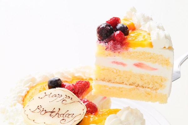生クリームデコレーションケーキ 5号 15cmの画像3枚目