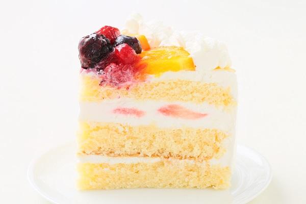 生クリームデコレーションケーキ 5号 15cmの画像4枚目