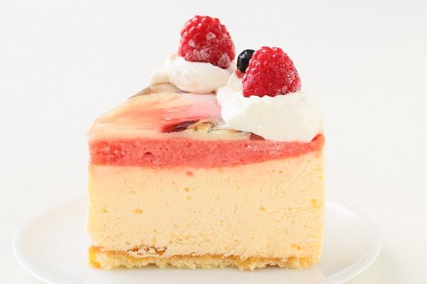 アイスフォトケーキ バニラ&キイチゴのピューレ 5号 15cmの画像4枚目