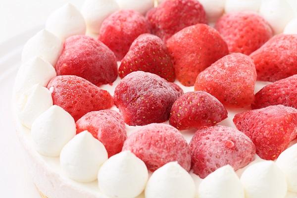 たっぷりイチゴのアイスケーキ 4号 12cmの画像10枚目