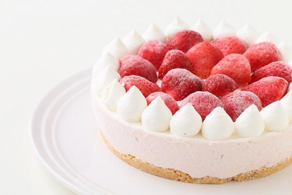 たっぷりイチゴのアイスケーキ 5号 15cmの画像11枚目