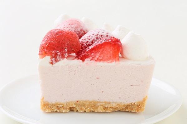 たっぷりイチゴのアイスケーキ 5号 15cmの画像6枚目