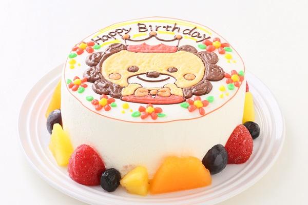 イラスト1体のみ イラストデコレーションケーキ(丸型)5号 15cmの画像2枚目