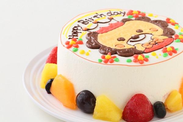 イラスト1体のみ イラストデコレーションケーキ(丸型)5号 15cmの画像7枚目