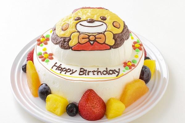 立体キャラクターケーキ(丸型)5号 15cmの画像1枚目