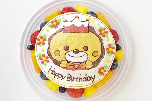 立体キャラクターケーキ(丸型)5号 15cmの画像2枚目