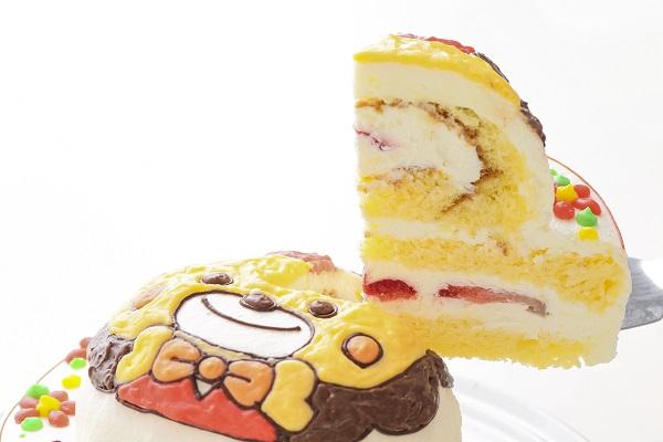 立体キャラクターケーキ(丸型)4号 12cmの画像3枚目