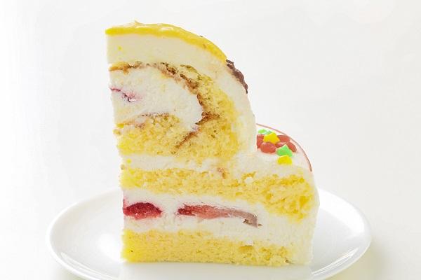 立体キャラクターケーキ(丸型)5号 15cmの画像4枚目