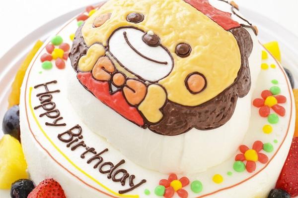 立体キャラクターケーキ(丸型)5号 15cmの画像6枚目