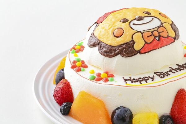 立体キャラクターケーキ(丸型)4号 12cmの画像7枚目