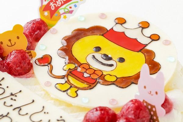 生クリームイラストケーキ 4号 12cmの画像6枚目
