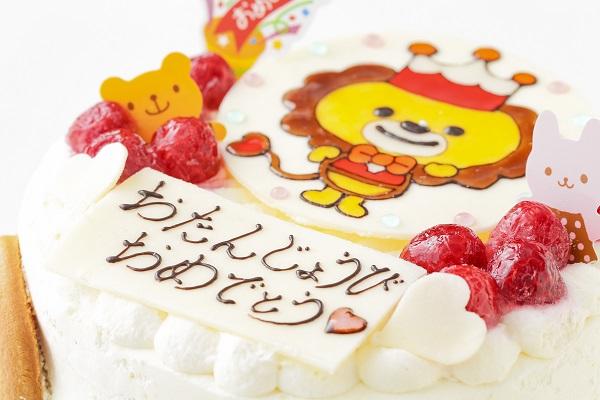 生クリームイラストケーキ 4号 12cmの画像7枚目
