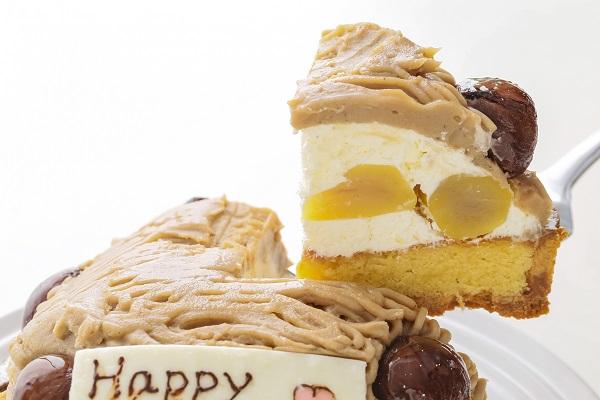 モンブランイラストケーキ 4号 12cmの画像3枚目