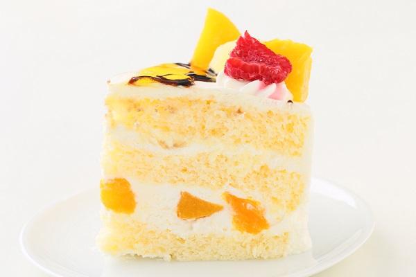 イラスト生クリームデコレーションケーキ 6号 18cmの画像4枚目