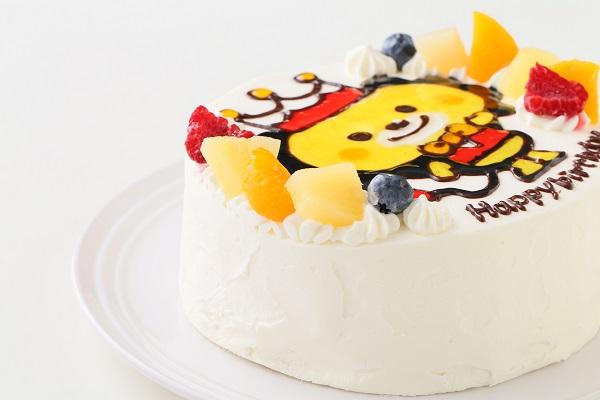 イラスト生クリームデコレーションケーキ 6号 18cmの画像8枚目