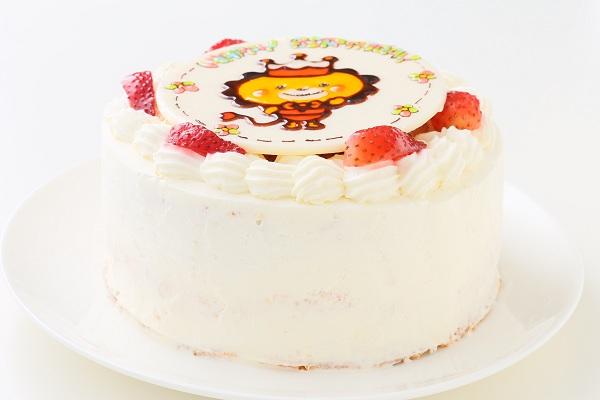キャラクターイラストケーキ 生 5号 15cmの画像2枚目