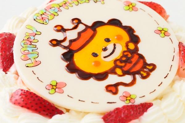 キャラクターイラストケーキ 生 5号 15cmの画像7枚目