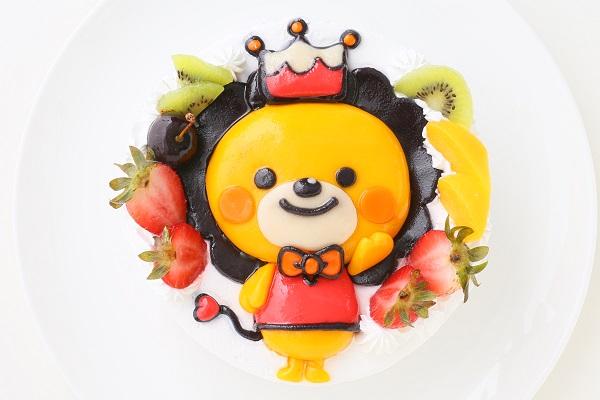 土台あり 立体キャラクターケーキ 生クリーム 5号 15cmの画像4枚目