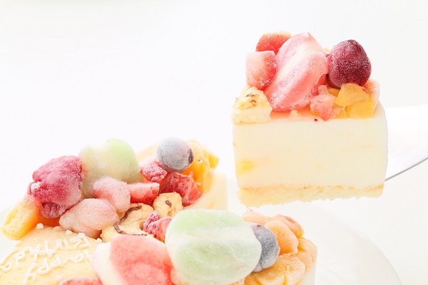 ナンバーアイスクリームのデコレーションケーキ 4号 12cmの画像3枚目