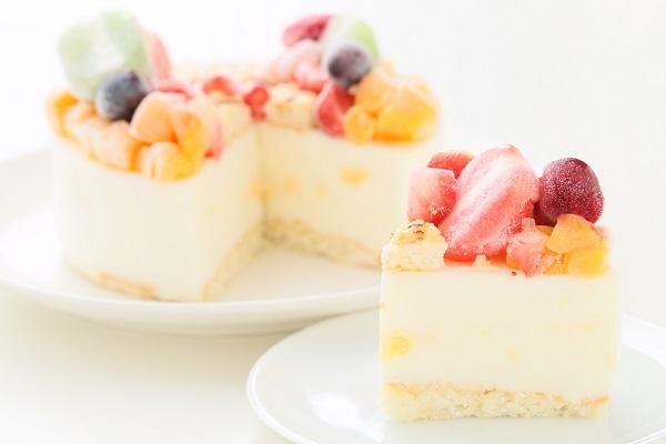 ナンバーアイスクリームのデコレーションケーキ 4号 12cmの画像5枚目