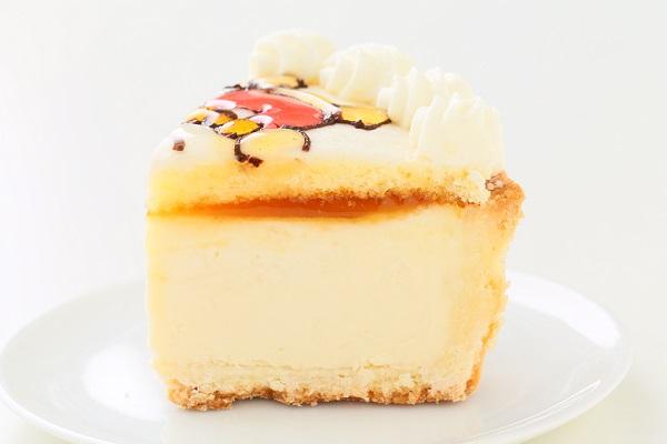 4種のチーズを練り込んだ濃厚とろけるイラストチーズケーキデコレーション 5号 15cmの画像4枚目