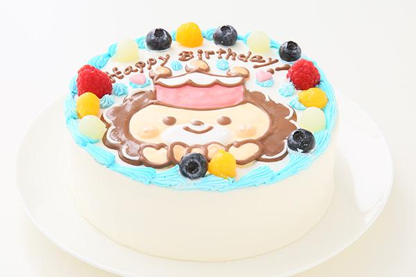 1日2台限定 カラーが選べるイラストケーキ キャラクター1体のみ 5号 15cmの画像2枚目