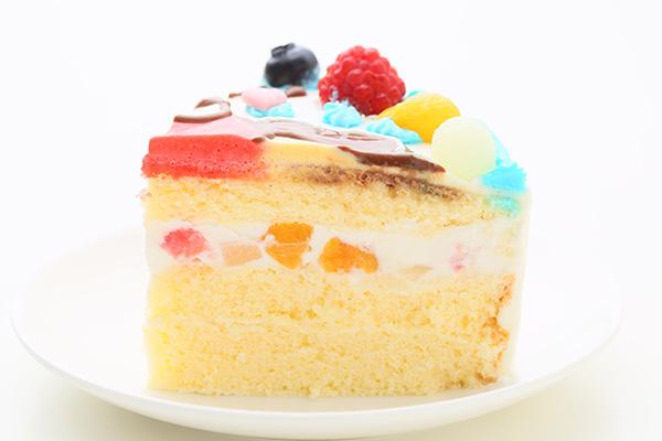 1日2台限定 カラーが選べるイラストケーキ キャラクター1体のみ 5号 15cmの画像4枚目