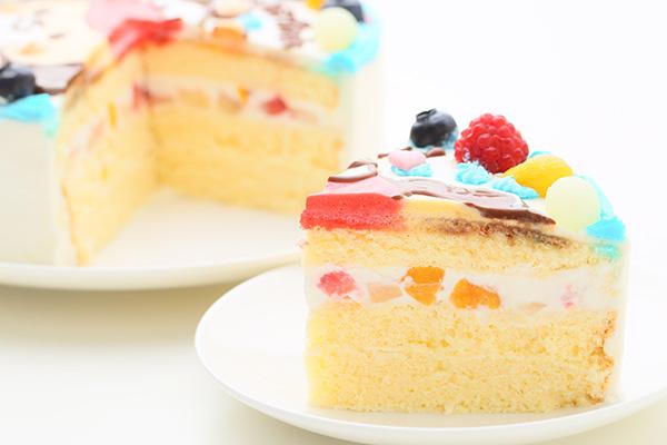 1日2台限定 カラーが選べるイラストケーキ キャラクター1体のみ 5号 15cmの画像5枚目