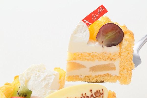 ビスキュイ付きファーストバースデー フォト 豆乳クリーム 4号 12cmの画像3枚目