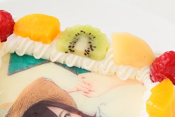 写真ケーキ角型生クリーム 15㎝×15㎝の画像7枚目
