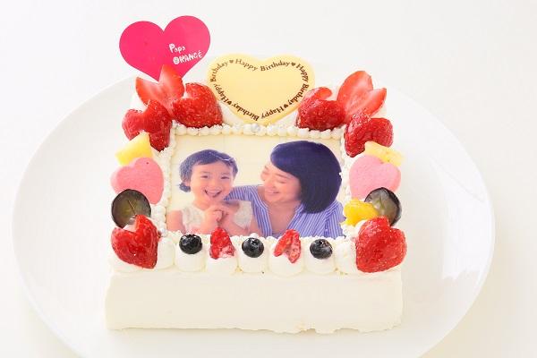 フォトケーキ 16×16cmの画像2枚目