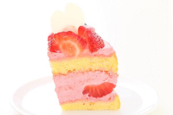 苺のネイキッドケーキ 直径18cm×12cm×7㎝の画像6枚目