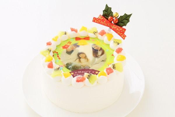 クリスマスケーキ2017 3種類から選べる 丸型写真ケーキ 6号 18cmの画像4枚目