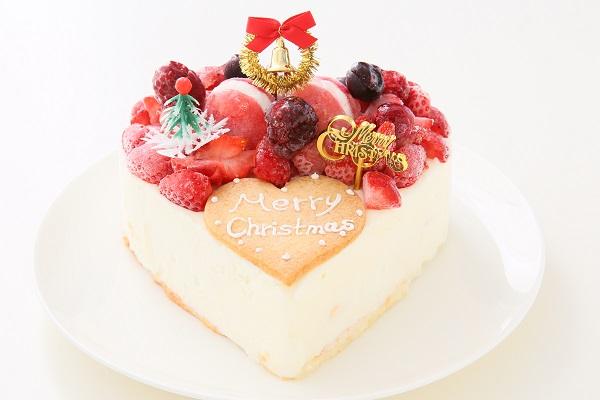クリスマスケーキ2017 バニラアイスクリームのデコレーションケーキ 5号 15cmの画像2枚目