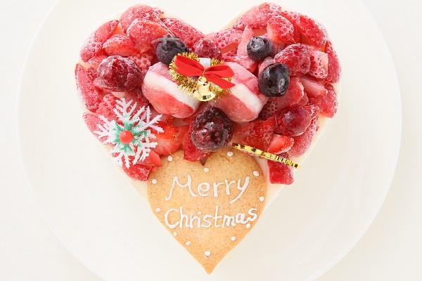 クリスマスケーキ2017 バニラアイスクリームのデコレーションケーキ 5号 15cmの画像3枚目