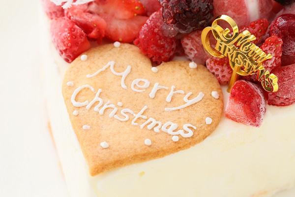 クリスマスケーキ2017 バニラアイスクリームのデコレーションケーキ 5号 15cmの画像7枚目