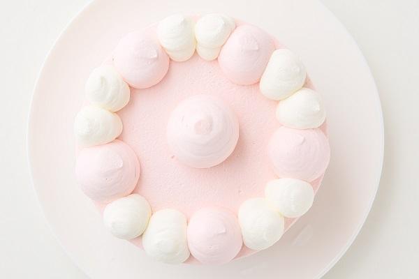 アイシングクッキー乗せ プリンセスケーキ 5号 15cmの画像4枚目
